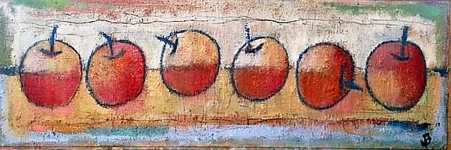 Six Orange Apples